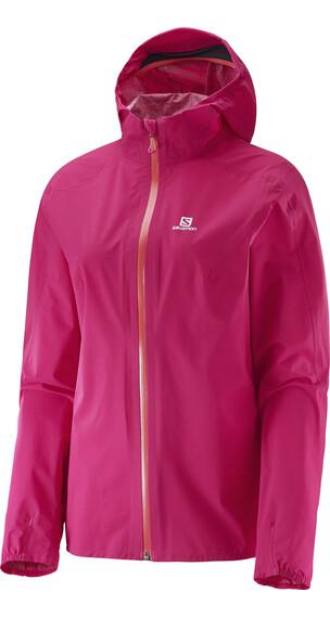 Salomon W's Bonatti WP Jacket Gaura Pink